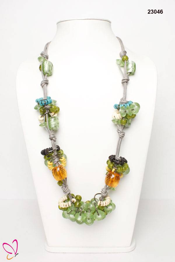 Attractive Colourful Beaded Necklace