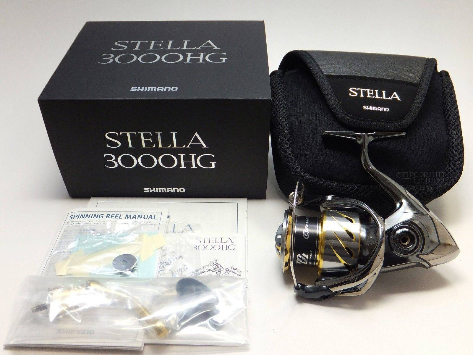 New Shimano STELLA 3000HG Spinning Reel 2014