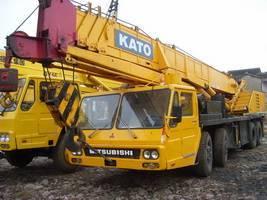 KATO NK500E used kato 50ton truck mobile crane used kato crane kato nk500E 50ton crane