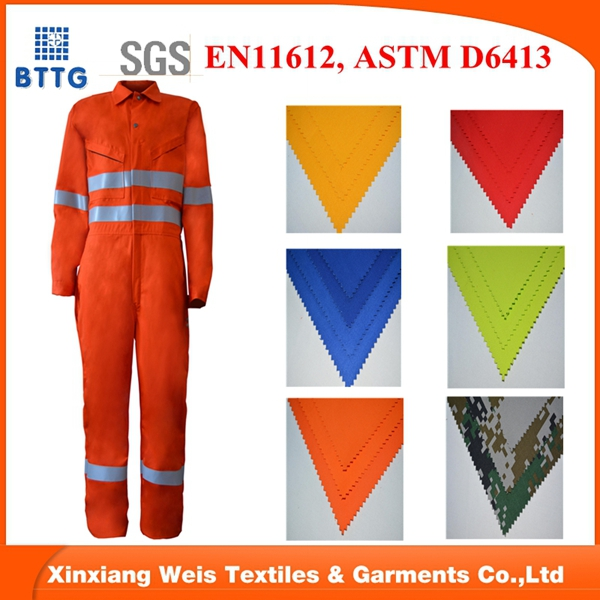 100 cotton flame retardant FR coverall workwear