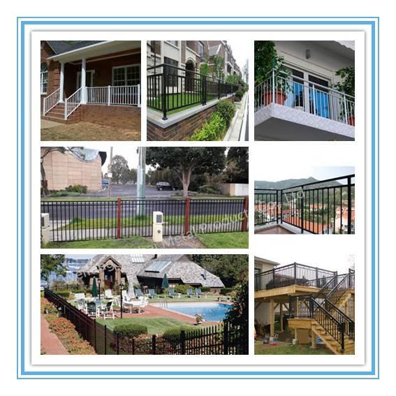 1.82.4 Ornamental Aluminum Fence Panels Manufacturers