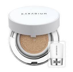 KARADIUM Real Cushion Foundation 15g & Refill 30ml (No. 21 & 23)