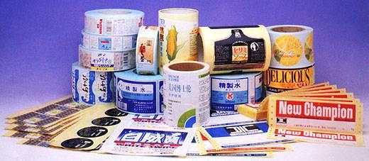 Colorful Gravure Printing Labels