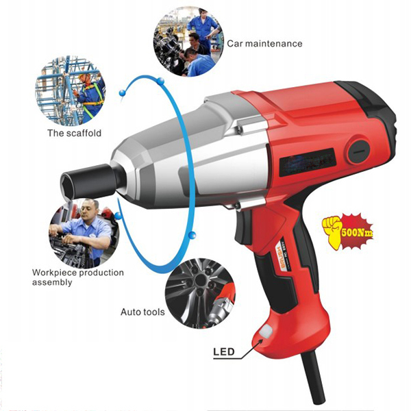 Electric Wrench 110v-240v 1150w with CE GS & EMC