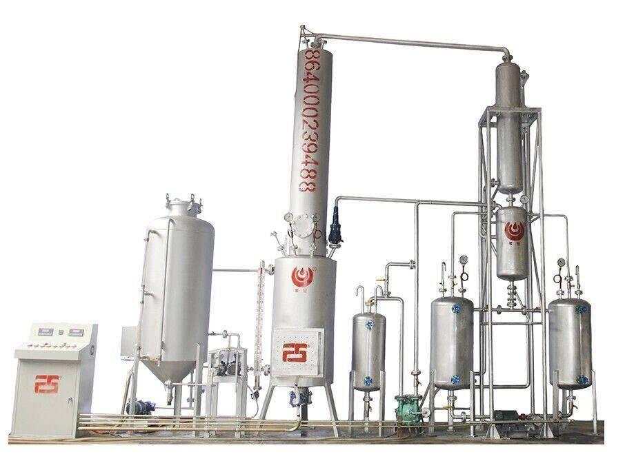 Used Engine Oil To Diesel Distillation Machine