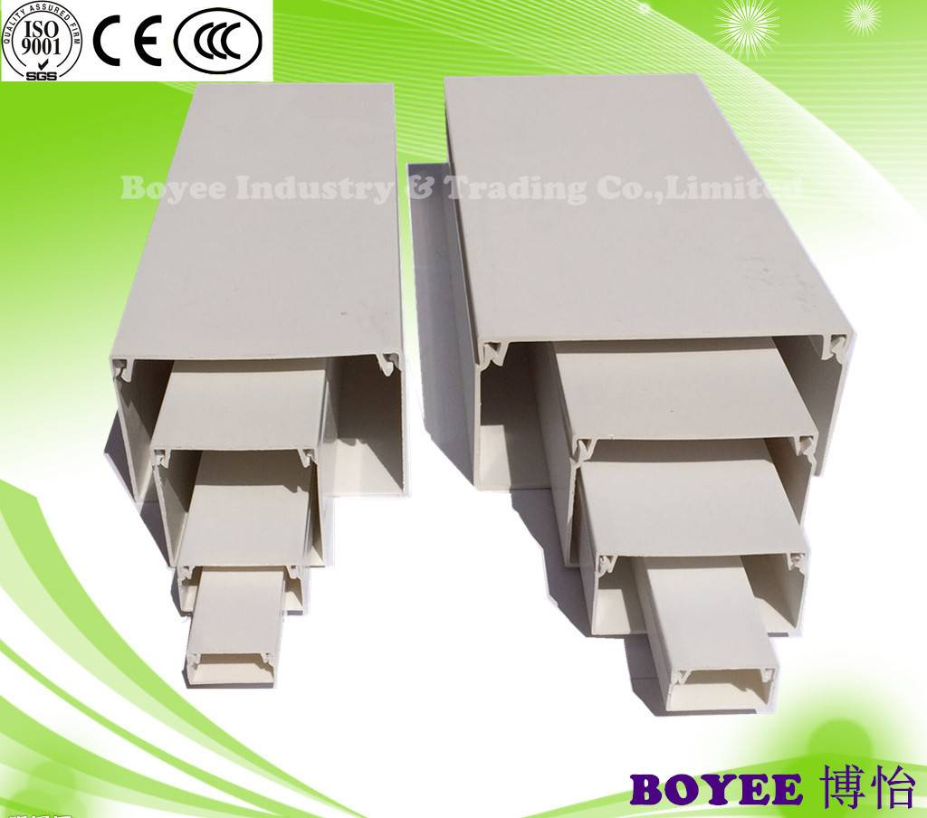 PVC Cable Trunking / PVC electrical trunking/ Wire Trunking / Electrical Duct