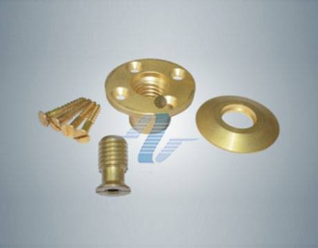 Brass Anchors for Pools with a Wood Deck Brass Anchors for Pools with a Wood Deck