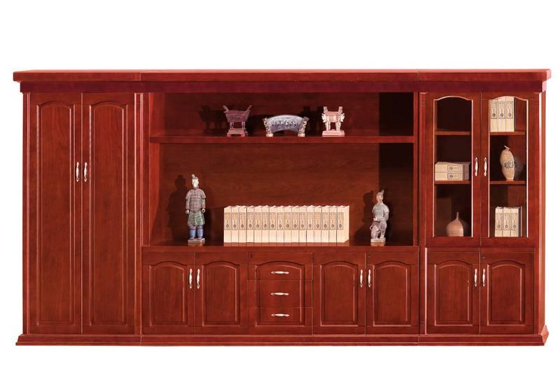 Fashion office furniture MDF veneer File Cabinet
