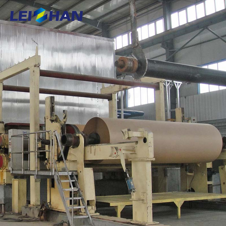 Complete waste carton cardboard recycling machine for paper making