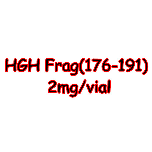 High-quality Fat loss Lyophilized Injectable Steroid Hgh frag 176-191 2mg/vial