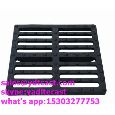 ductile iron gully grating d400 rain drain gully grate