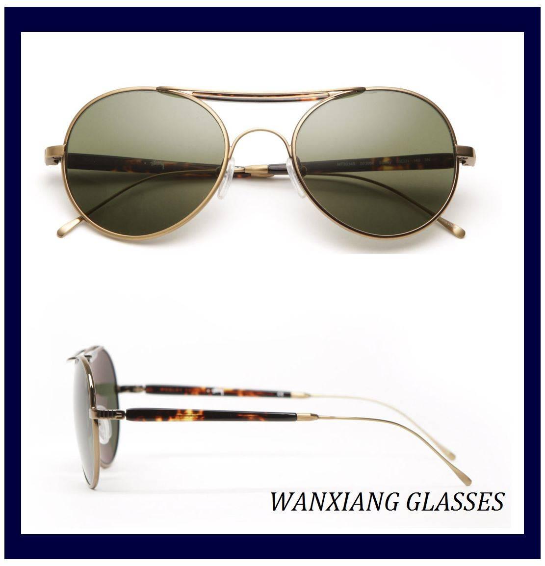 Custom Aviator Sunglasses