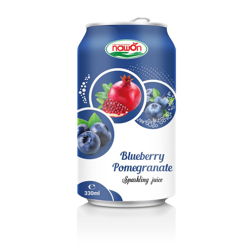 Sweet Blueberry Pomegranate Juice
