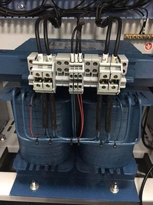 Single-phase medical isolation transformer