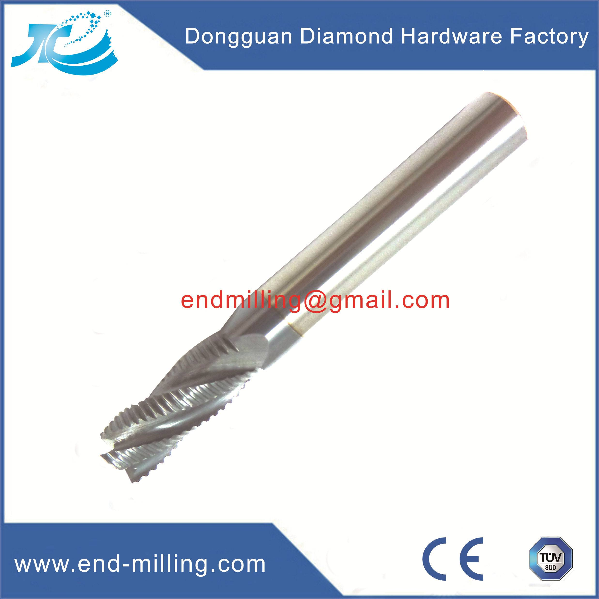 Tungsten Steel Roughing End Mill