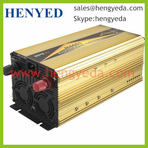 1500W dc12v/24v to ac110v/220v/230v/240v Pure Sine Wave Solar Power Inverter (HYD-1500P)