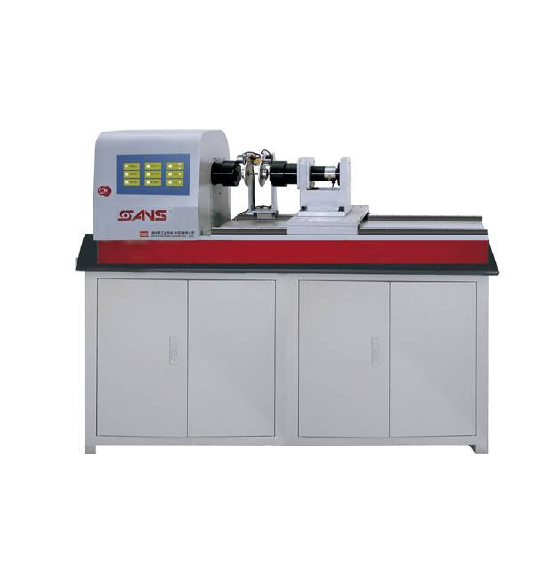 Microcomputer controlled electronic torsion testing machine