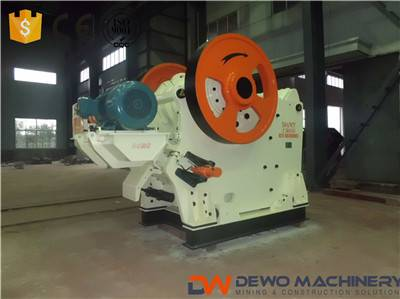 PEF400*600 jaw crusher