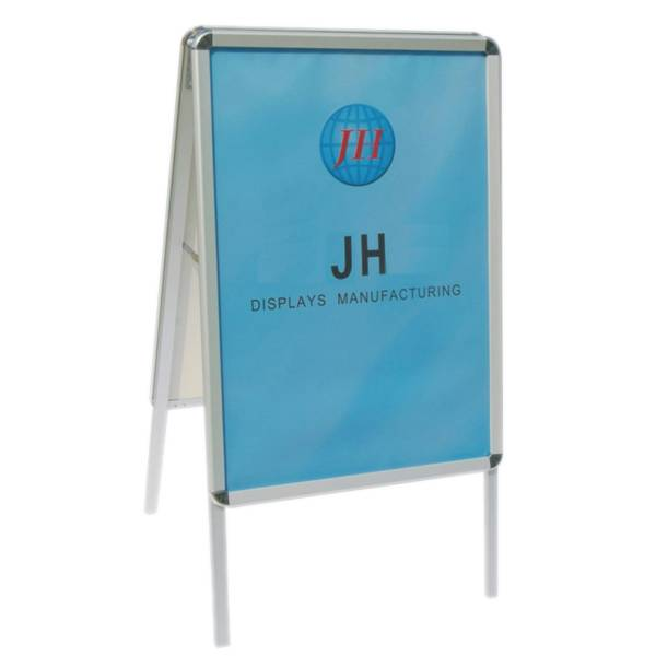 Double Sided A-Frame Snap Poster Stand