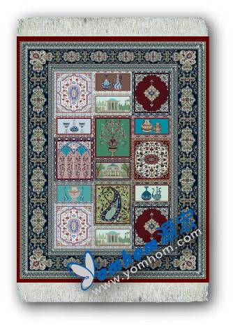 oriental persian mouse rug pad