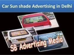 Advertising Car Sun Shade