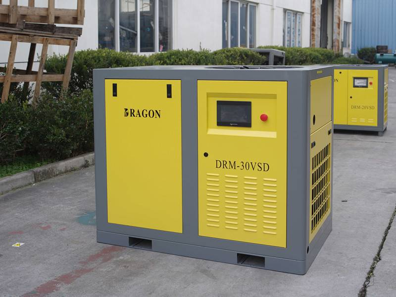 oil less Dragon screw air cmpressor 60hp