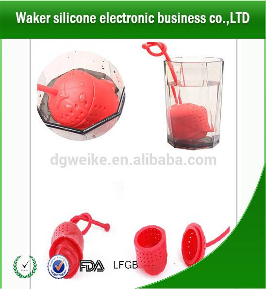 silicone rose shape tea infuser