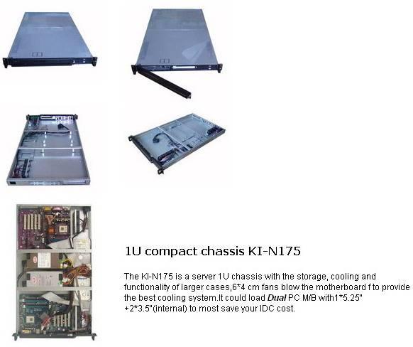 1u rackmount chassis,case