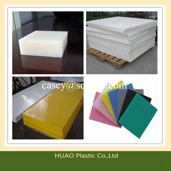 HUAO 100% virgin material UHMWPE Polyethylene plasric sheet