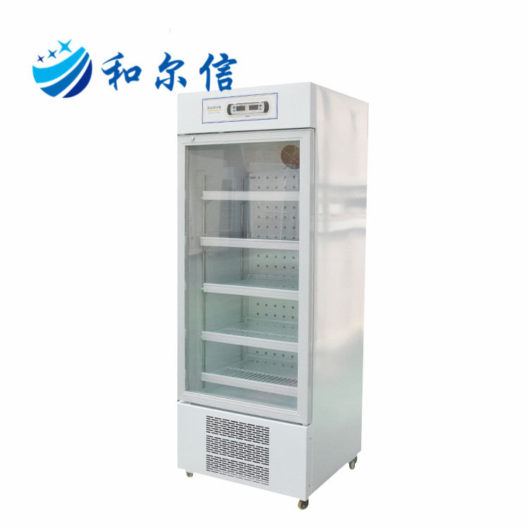 2~8 Degree Glass Door Display Labs Refrigerator for Hospital Labs Use