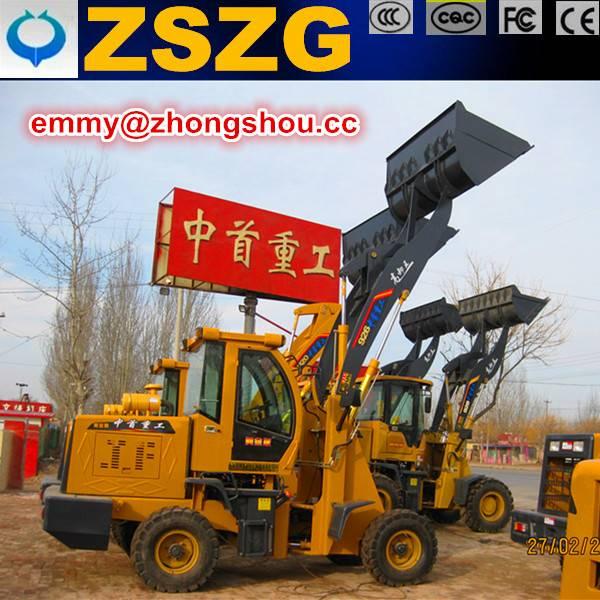 hot export mini 926 wheel loader with 0.9m3 bucket capacity