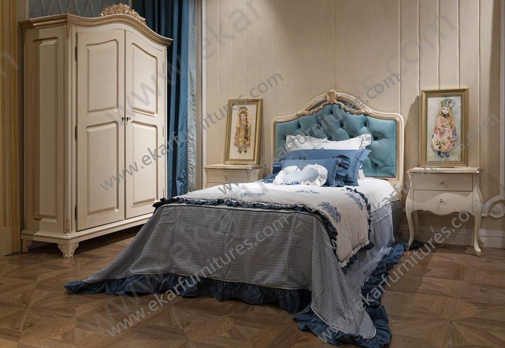Vintage design unique queen bed / queen size bed loft bed