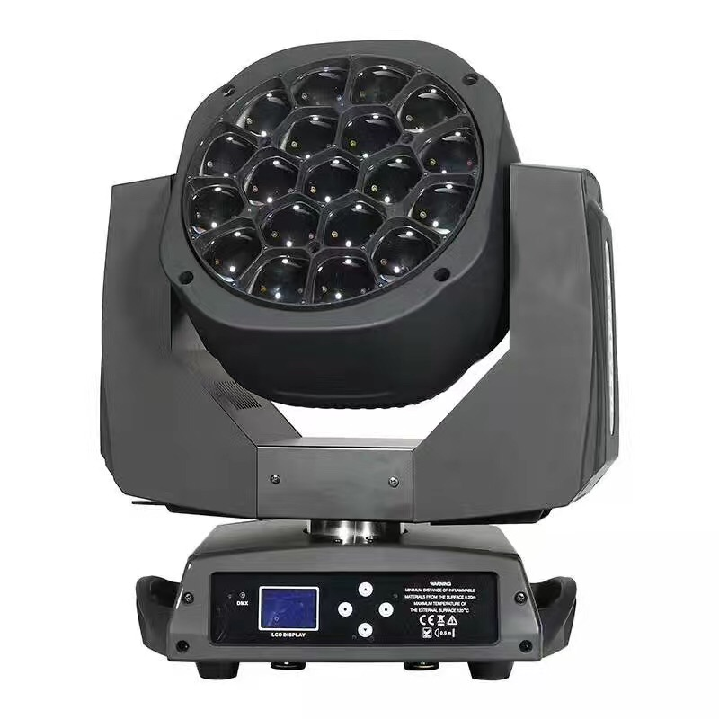 homeilight 19x15w bee eyes moving head light