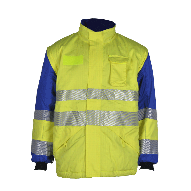 Xinke supplies affordable men's reflective flame retardant jackets