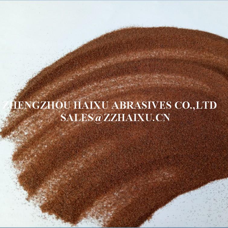 Industrial garnet sand
