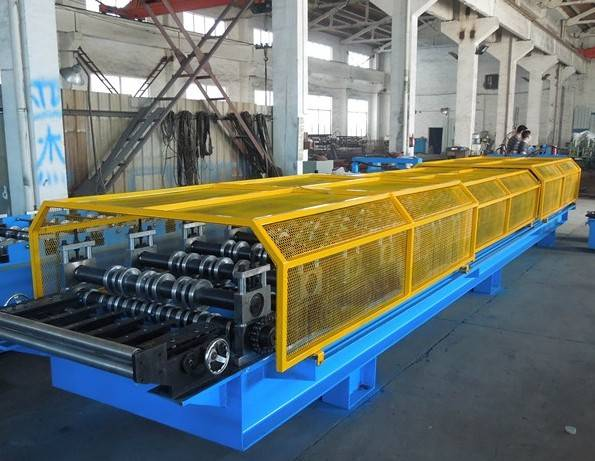 European Standard  Double Layer Roll Forming Machine