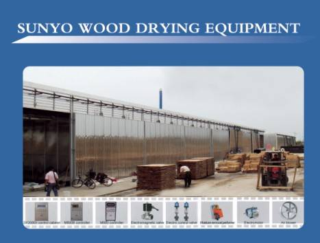 wood drying kiln