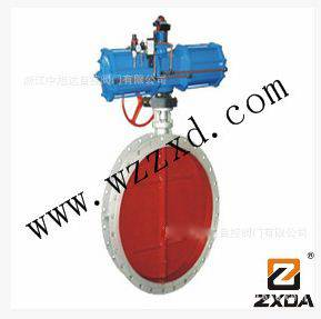 AW large diameter pneumatic butterfly valve