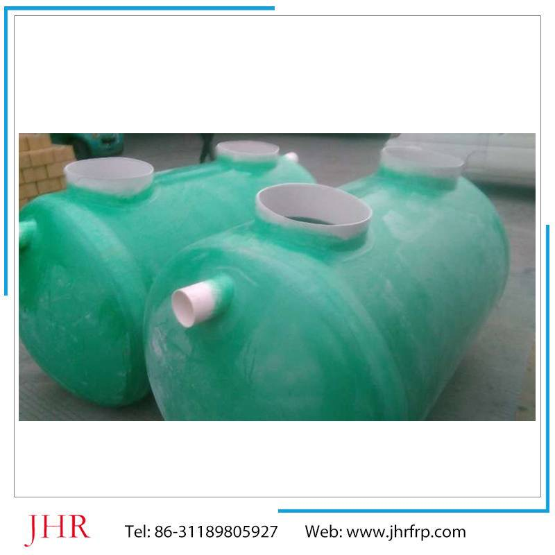 Waste food disposal frp septic tank