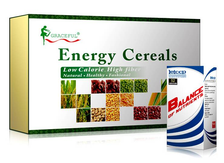 Slimming Meal Replacement - Herbal Energy Cereals for Weight Loss
