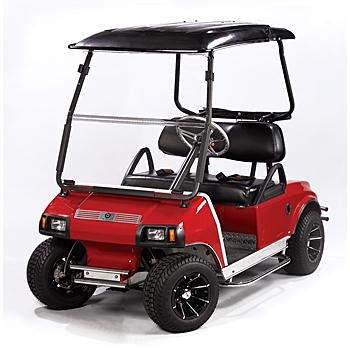 golf car windshield
