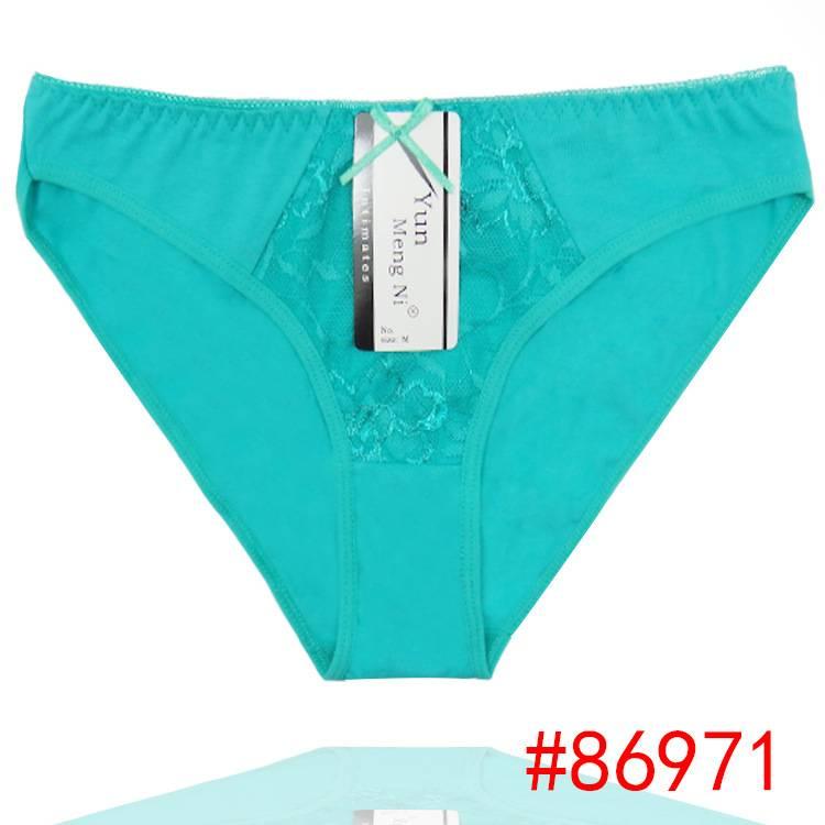 2015 New laced cotton bikini panties lady brief sexy Underpants lady boyleg women underwear girl hip