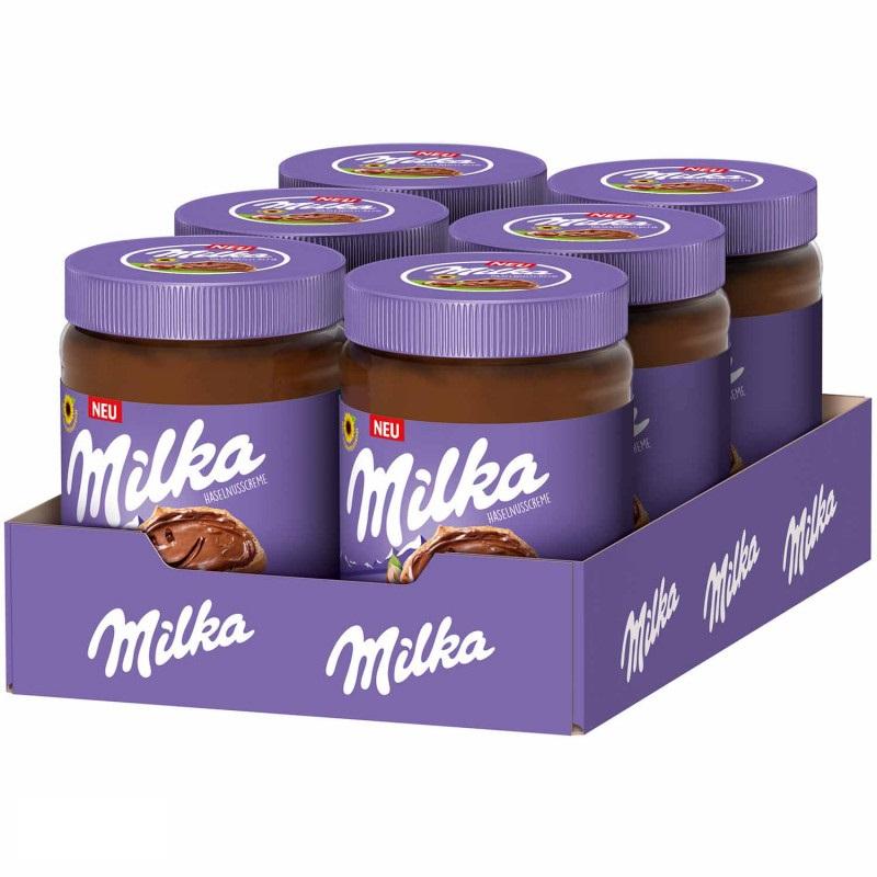 Milka Hazelnut Spread 600g