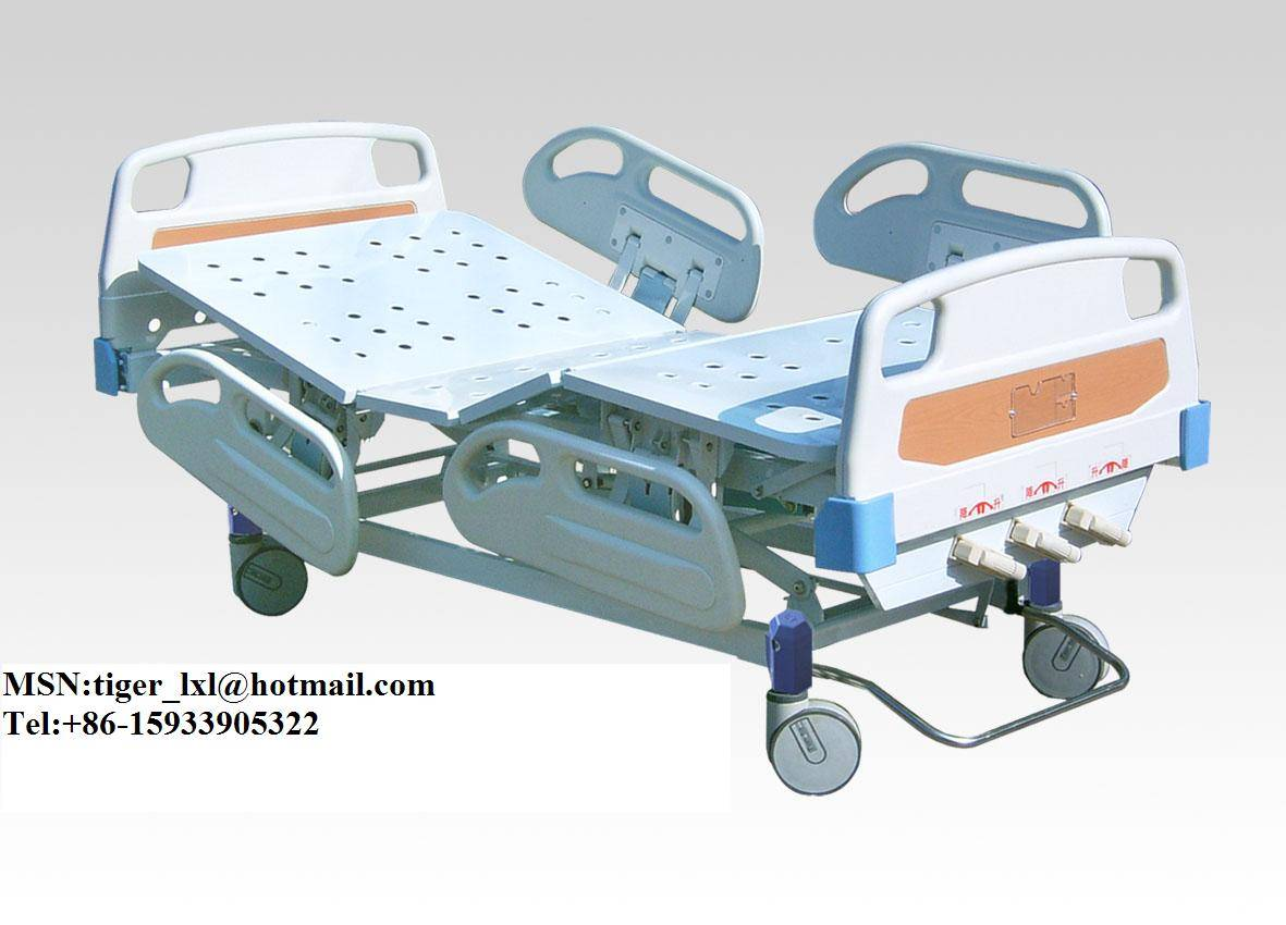 Movable Three Shakes Hospital Bed A-9