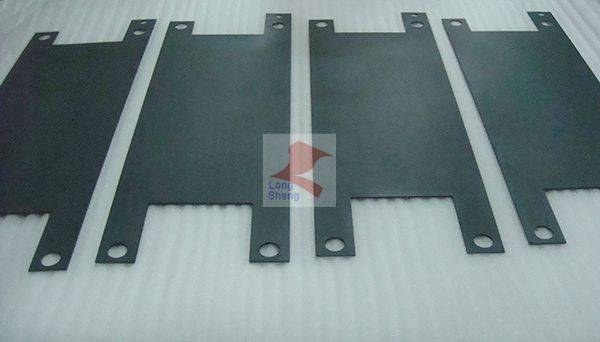 titanium anode plate for making hydrogen