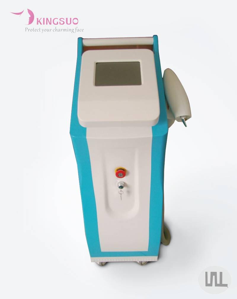 Vertical q switch nd yag laser tattoo removal equipment