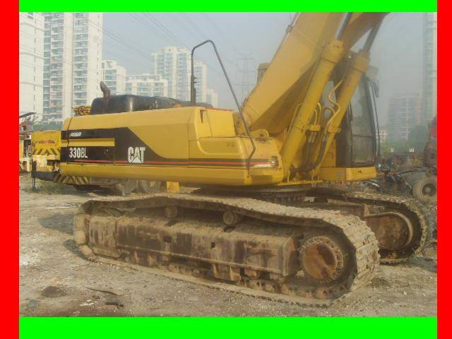 cheap and nice work condition 330BLC excavator for sale