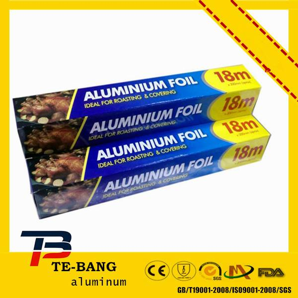 Food wrap excellent quality kitchen aluminum foil for microwave oven