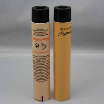 Collapsible Aluminum tube for Cosmetics.
