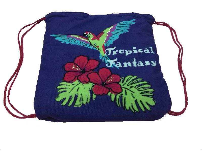 Printing microfiber beach bag with customized design